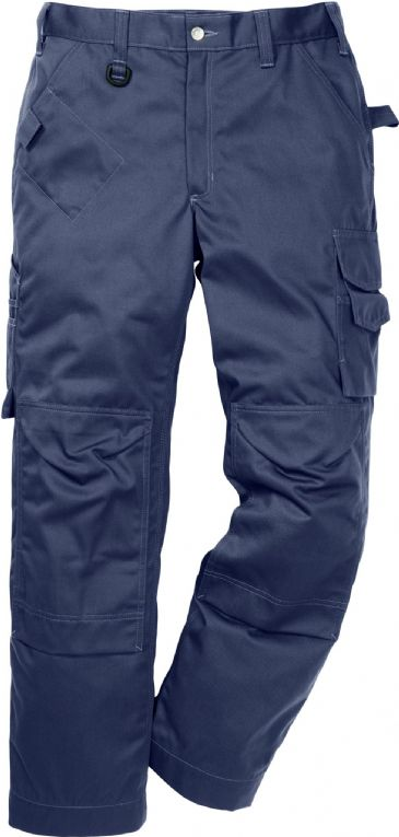 Fristads Icon One Cotton Trousers with Kneepad Pockets 2112 KC / 114119 (Dark Navy)